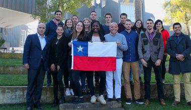 Estudiantes de las universidades francesas ESIEE, Grenoble, Polytech e INSA realizaron su práctica de investigación en el Campus Viña del Mar
