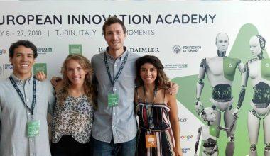 Equipo ganador de UAI+D Prototypes 2017 y su experiencia en la European Innovation Academy (EIA)
