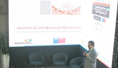 Director de centro UAI Mining presentó plataforma de innovación en Expomin 2018