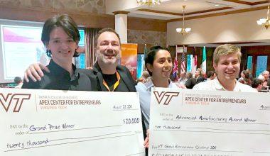 Alumnos de Ingeniería ganan concurso internacional de emprendimiento universitario de Virginia Tech