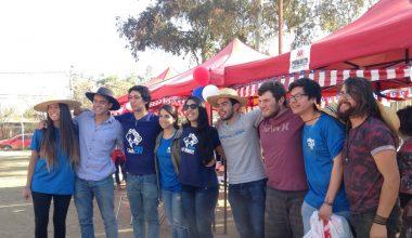Alumnos de ingeniería dedican celebración de fiestas patrias para ir en ayuda de club deportivo para personas con discapacidad