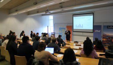 """Ingeniería participa en """"Vitrina de Innovación"""", evento que reunió a la academia y la industria  en el Campus UAI Viña"""