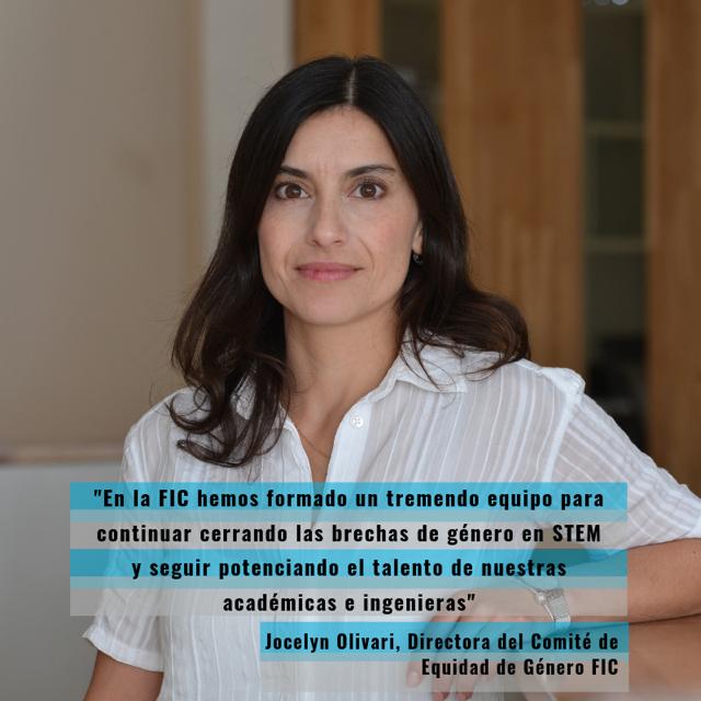 Jocelyn Olivarí - Directora Comité Equidad de Género
