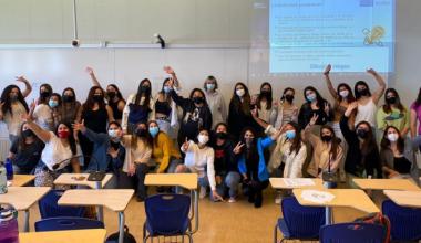 Más de cien alumnas participaron del programa Mentoría Mujeres Ingeniería UAI